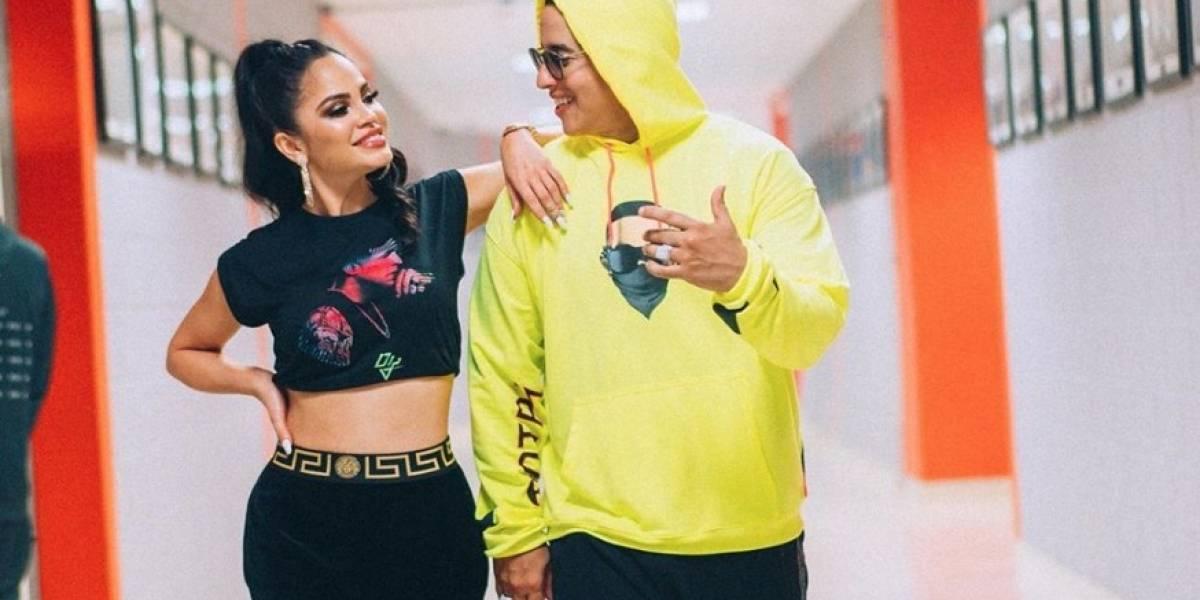 Daddy Yankee felicita a Natti Natasha