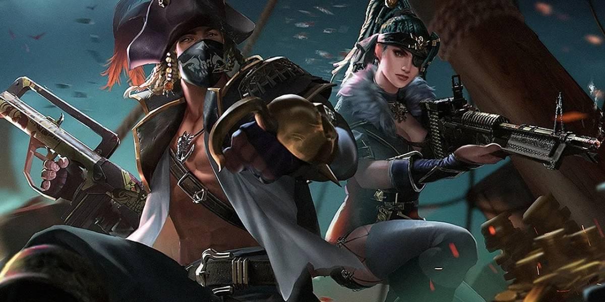 Free Fire: Te decimos donde encontrar el tesoro pirata del día 10