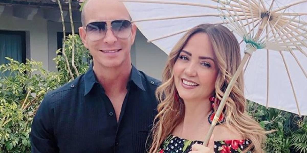 Andrea Legarreta genera rumores de infidelidad por parte de Erik Rubin