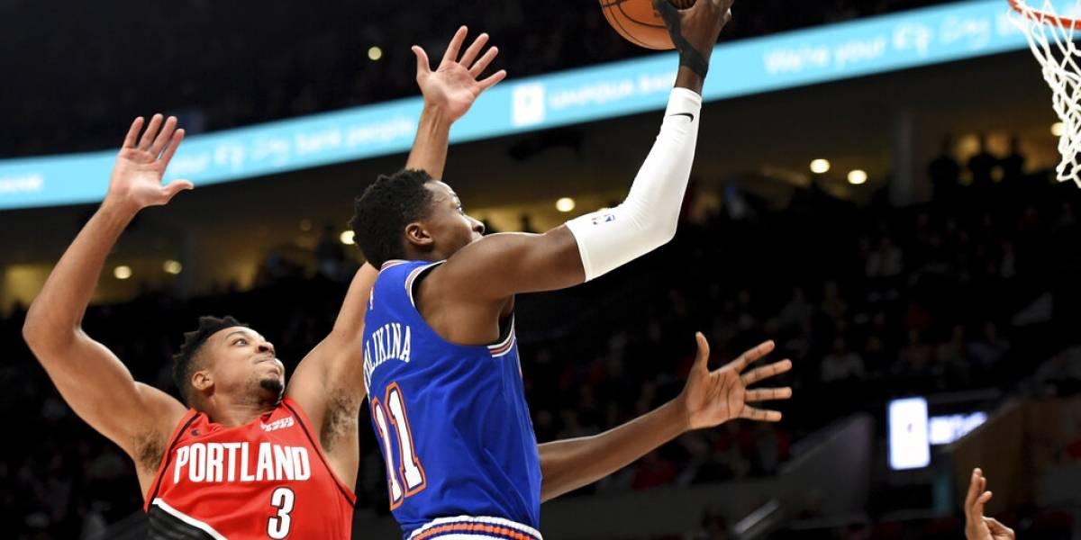 Knicks sufren su décima derrota consecutiva