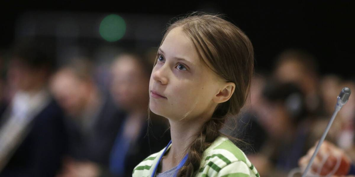 """Greta Thunberg a gobiernos: """"Están engañando"""" sobre el clima"""