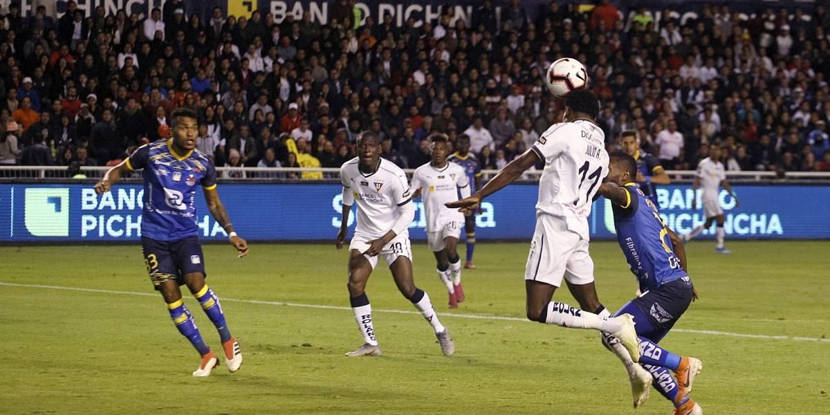 La Supercopa Ecuador entre Liga de Quito y Delfín se disputará en Guayaquil