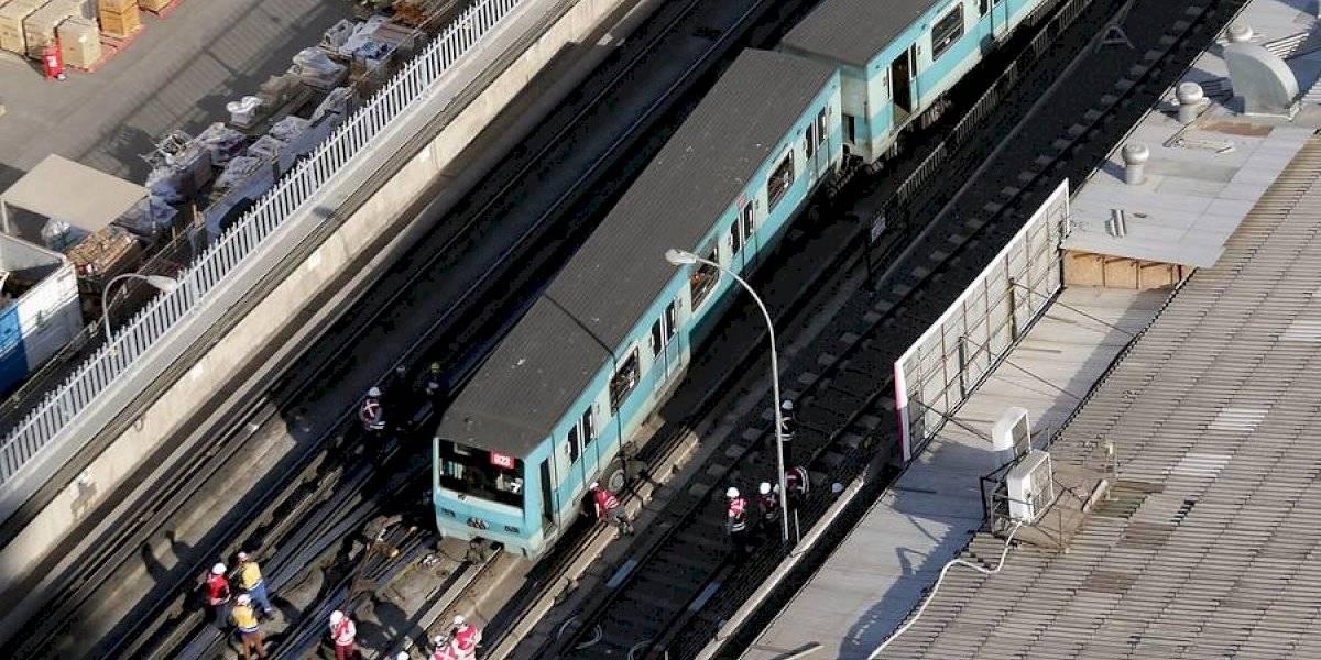 Seguimos esperando: Metro lleva casi 10 horas sin servicio completo en Línea 5 por descarrilamiento de tren