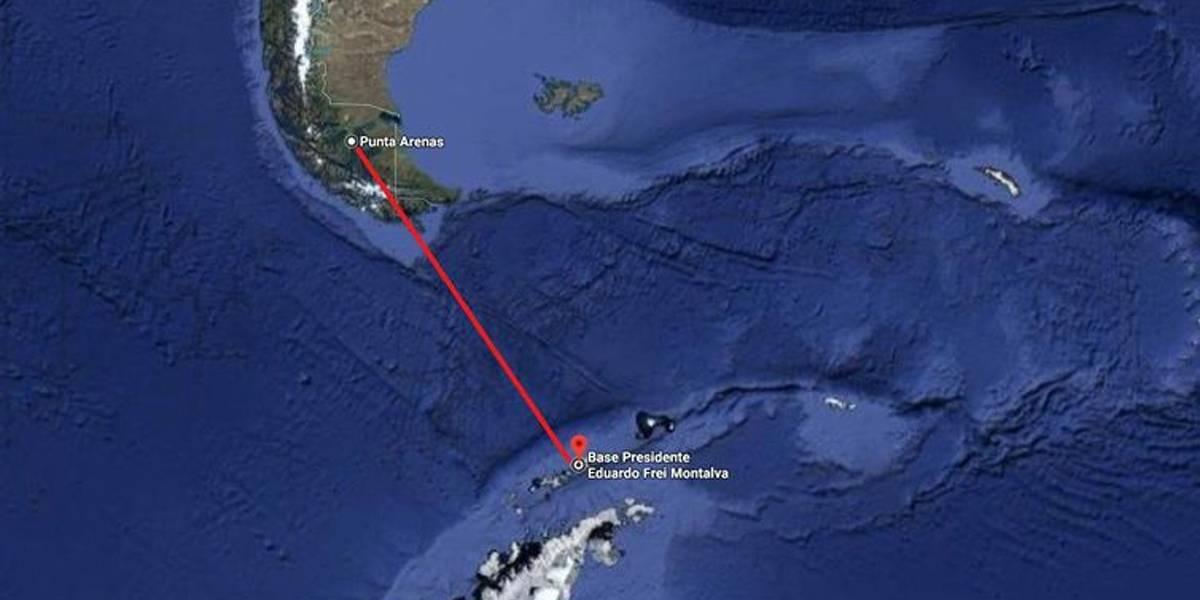 Continuam as buscas por aeronave chilena que desapareceu na Antártica