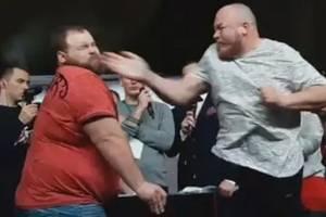 Video: campeón de las bofetadas quedó mal parado y perdió