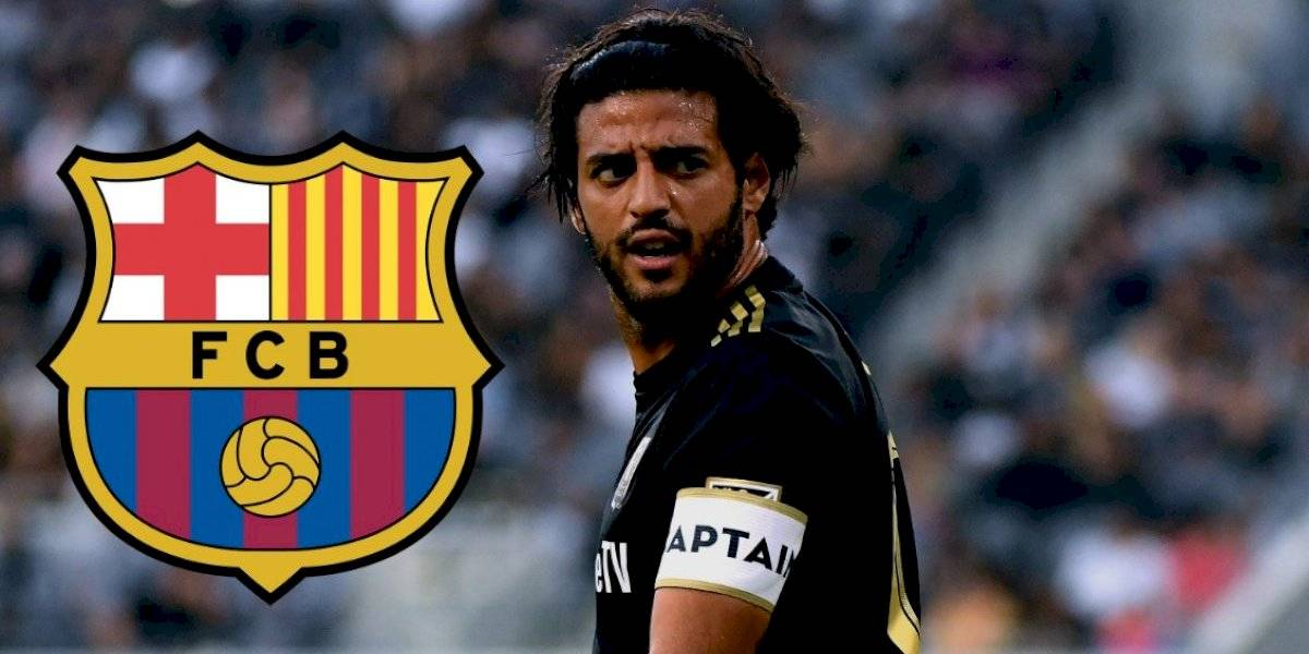 Carlos Vela revela que LAFC frustró su fichaje con el Barcelona