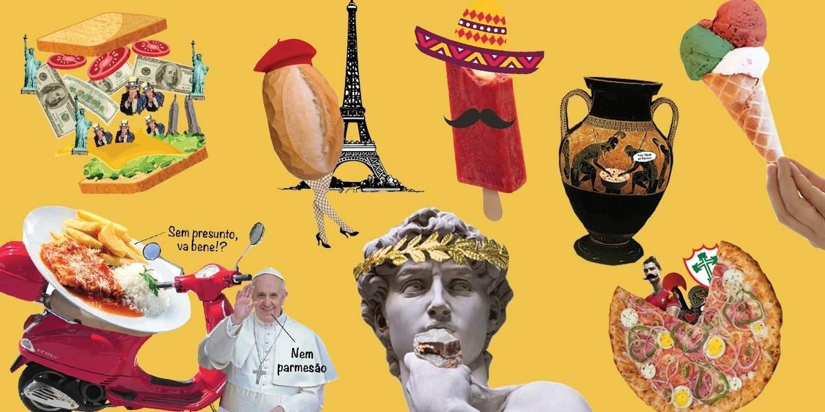 À moda da casa? As receitas brasileiras creditadas a outros países