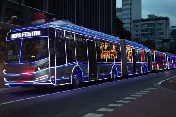 ônibus natalino SPTrans