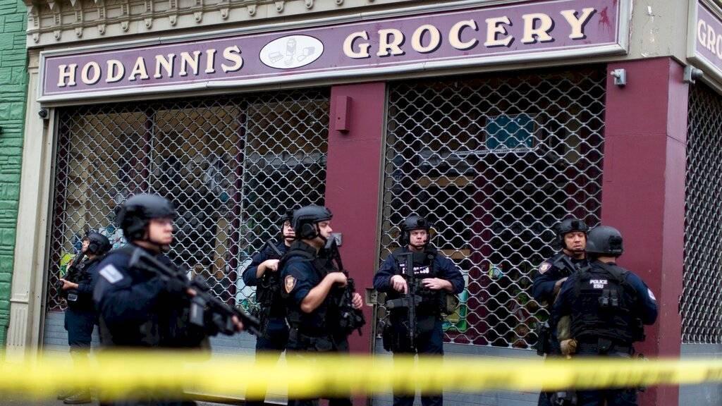 intenso tiroteo registrado en un supermercado de Jersey City murieron seis personas