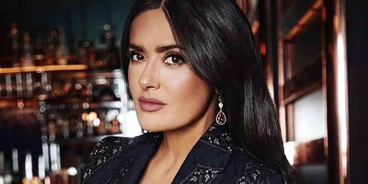 Salma Hayek presume su amistad con Angelina Jolie y se dejan ver sin maquillaje