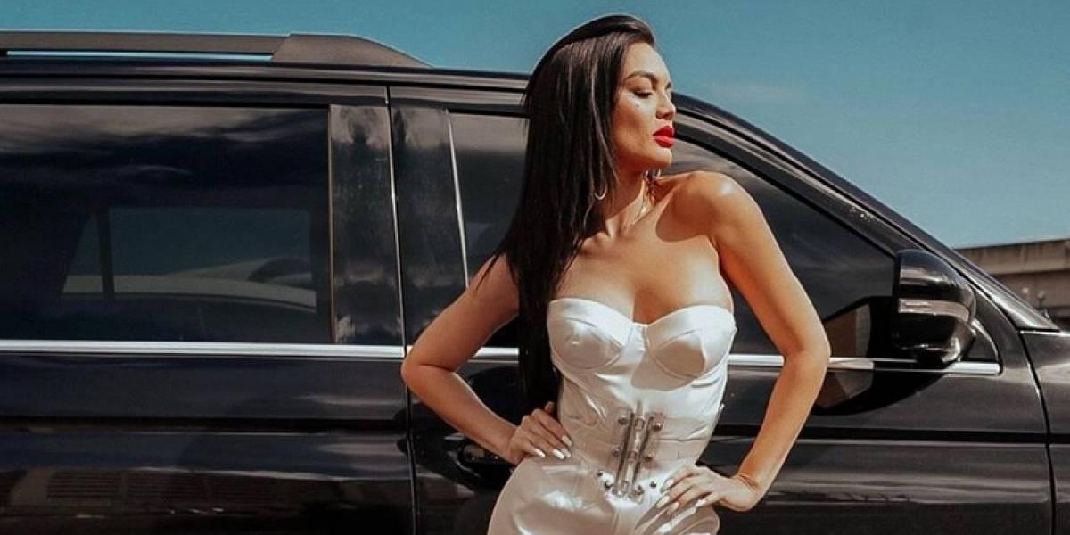 #PrimeroConElNalgo - Muy bien acompañada Zuleyka Rivera en el Miss Universe