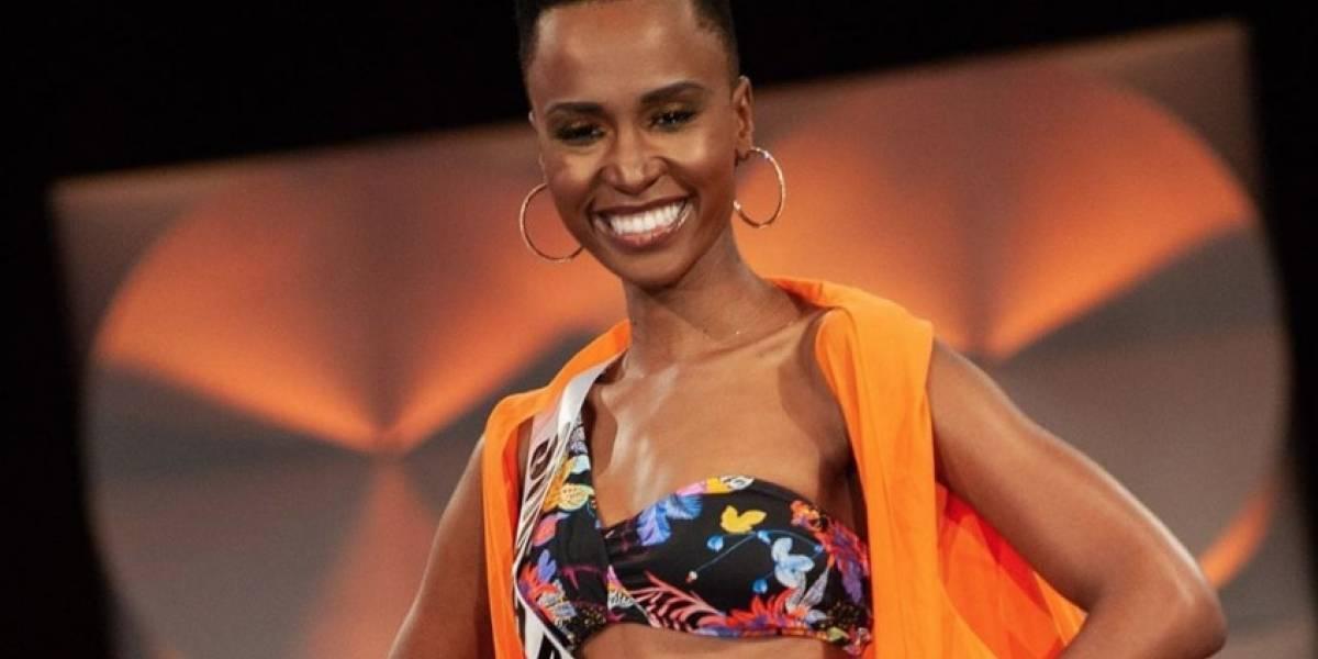 La Miss Universo Zozubini Tunzi reveló si tiene o no cirugías estéticas