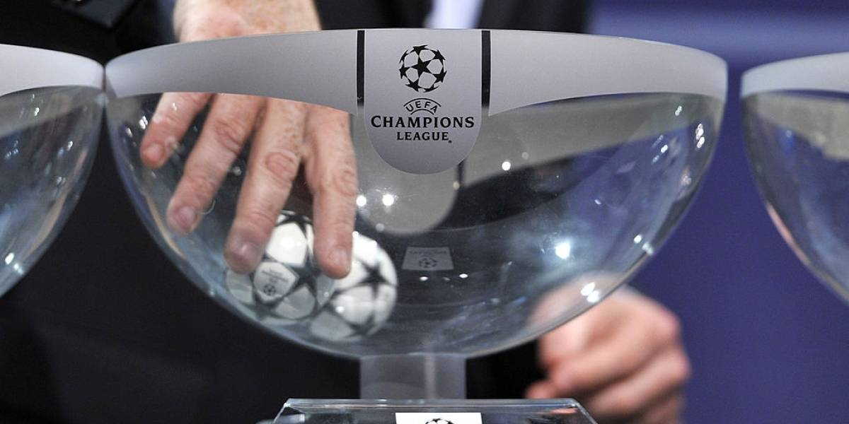En Vivo Online: Sorteo de los octavos de la Champions League