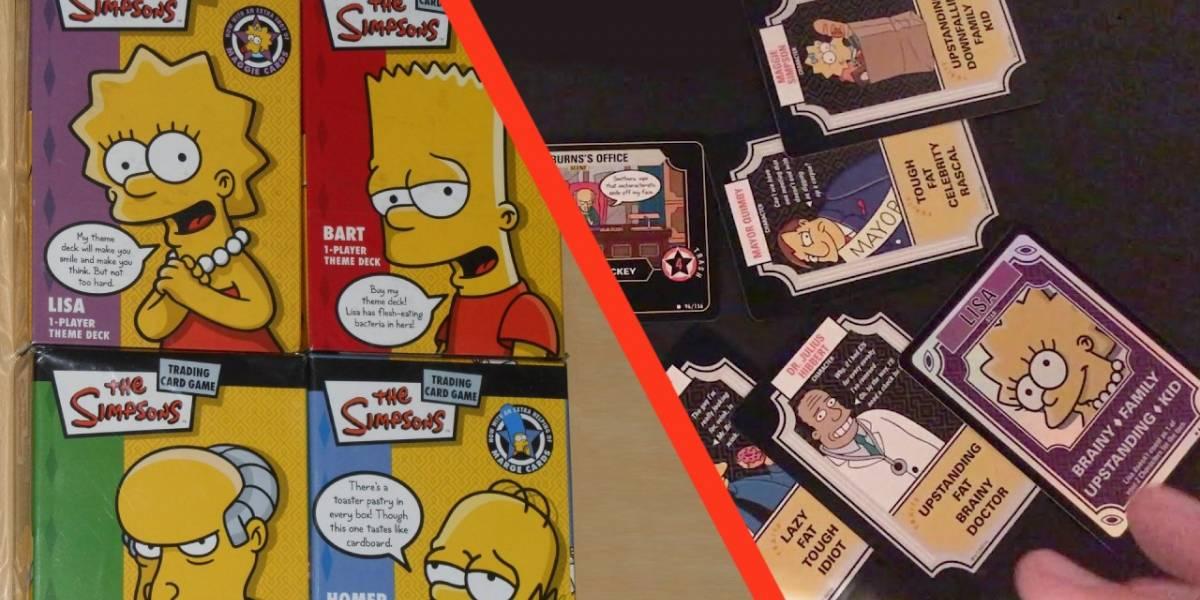 Los Simpson: Conoce el juego de cartas coleccionables que casi nadie recuerda