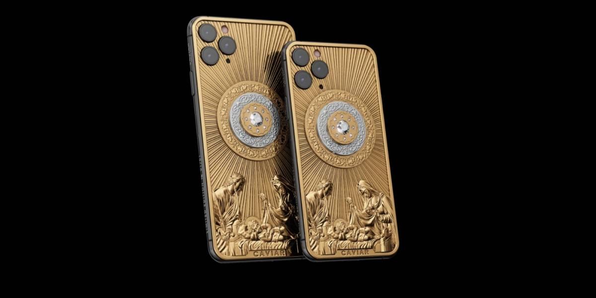 iPhone com diamantes e desenho de presépio custa mais de R$ 581 mil