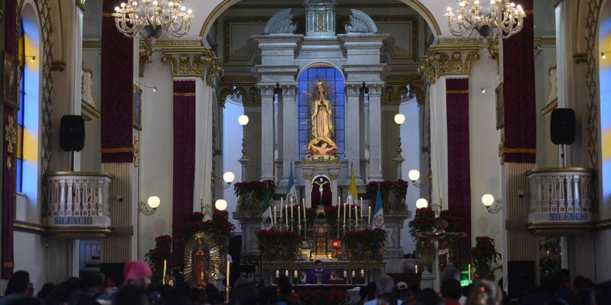 Anuncian cambio del recorrido de la procesión de la Virgen de Guadalupe en la zona 1