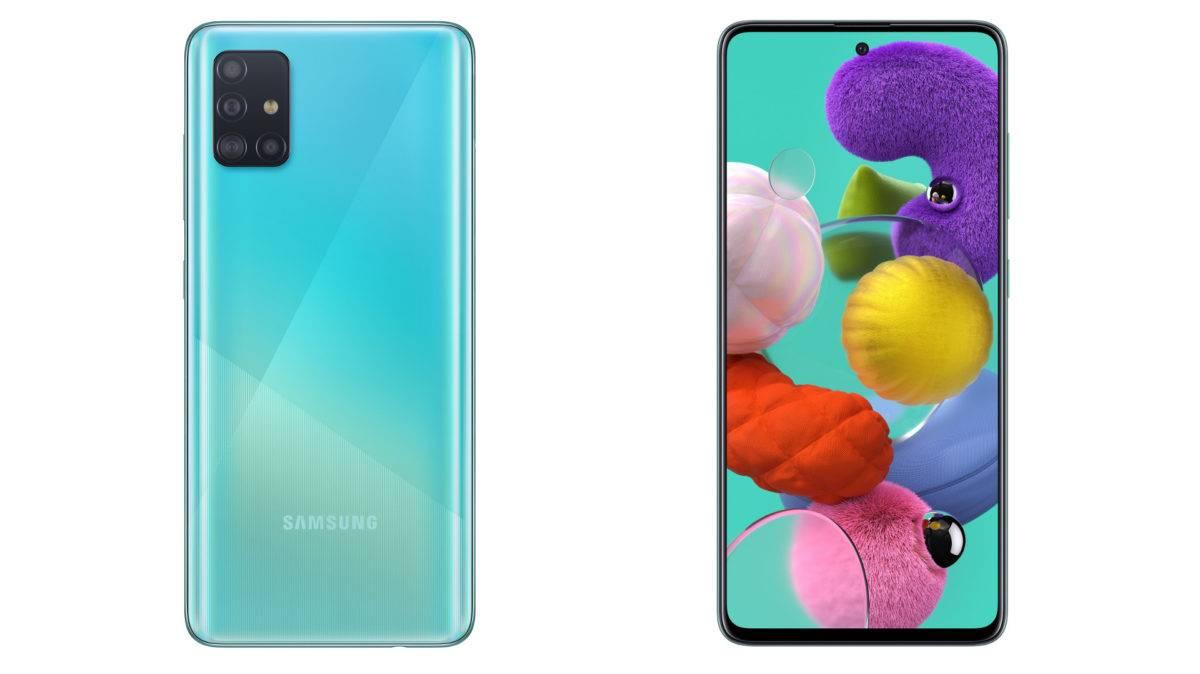Samsung anuncia los nuevos dispositivos Galaxy A51 y A71