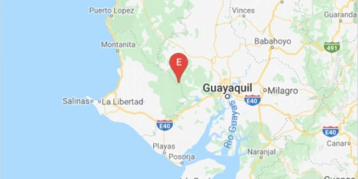 Sismo de 3.5 se sintió se sintió en Guayas