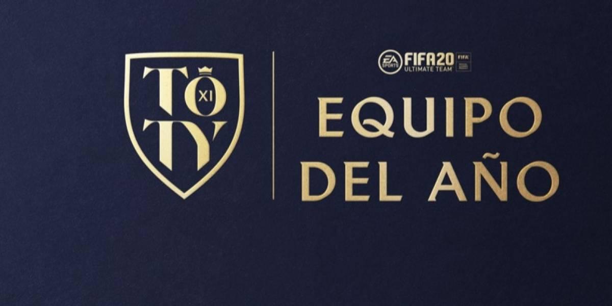 Ahora la gente votará por el TOTY, el equipo del año en FIFA 20 y estos son los nominados
