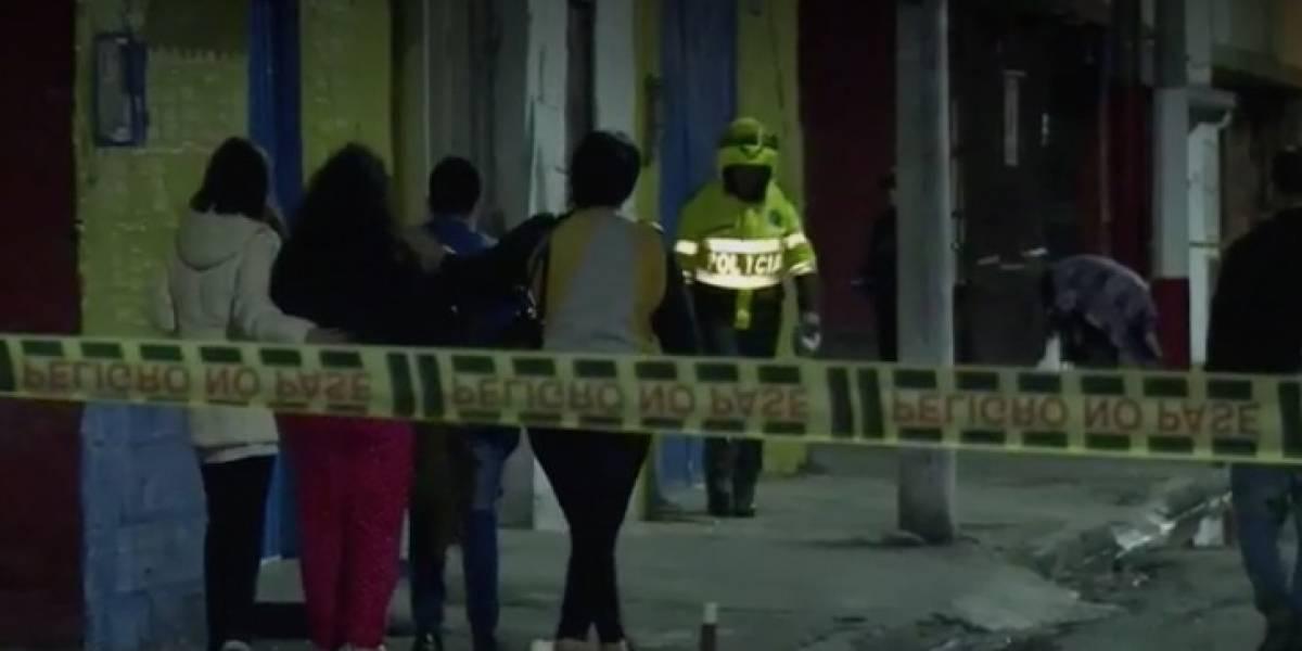 Asesinan de un disparo en la espalda a Policía que intentó evitar robo en Bogotá
