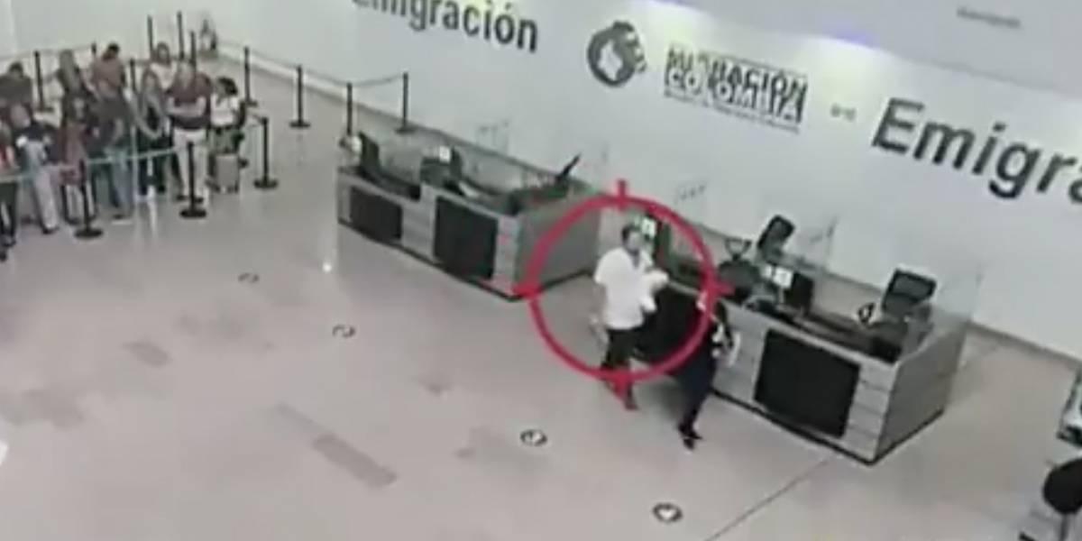 Ciudadano italiano intentó sacar a bebé de 18 días de nacida de Colombia