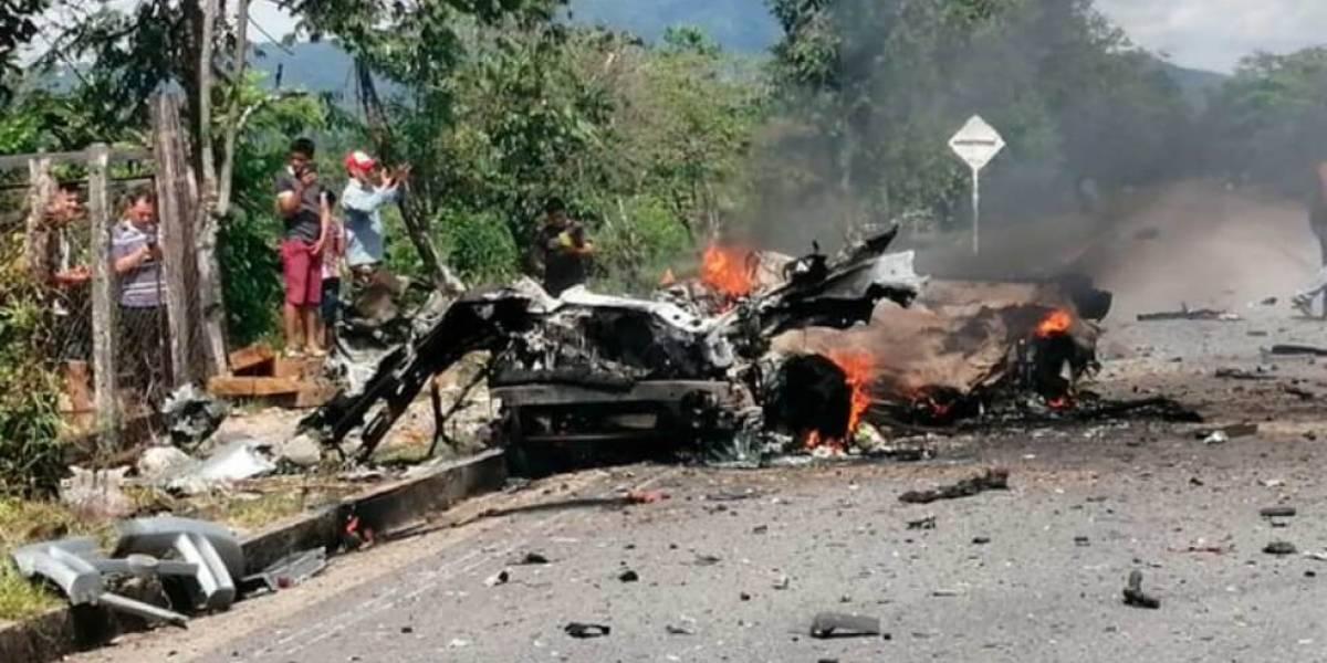 ¡Atención! Explosión de carrobomba en Boyacá deja tres soldados heridos