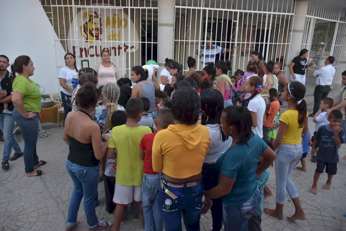 Comedor para migrantes en Barranquilla. Jairo Cassiani