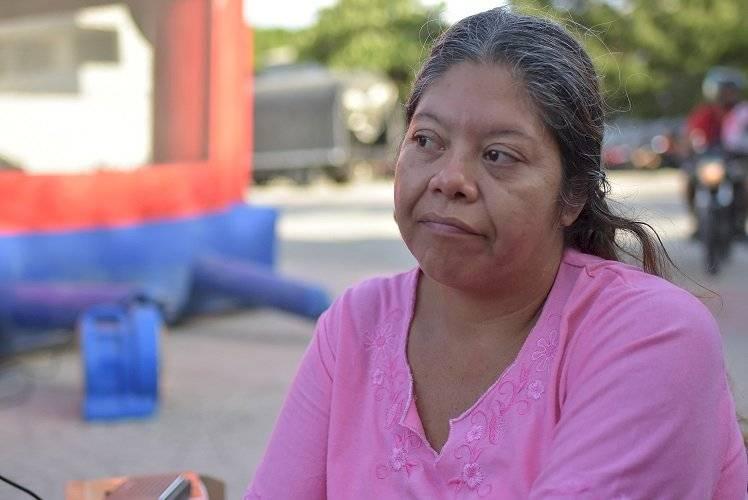 Maicler Fuentes migrante venezolana en Barranquilla. Jairo Cassiani