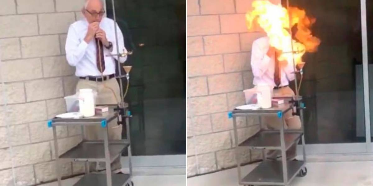 Aluna compila momentos mais loucos de professor de física e vídeo se torna viral nas redes sociais