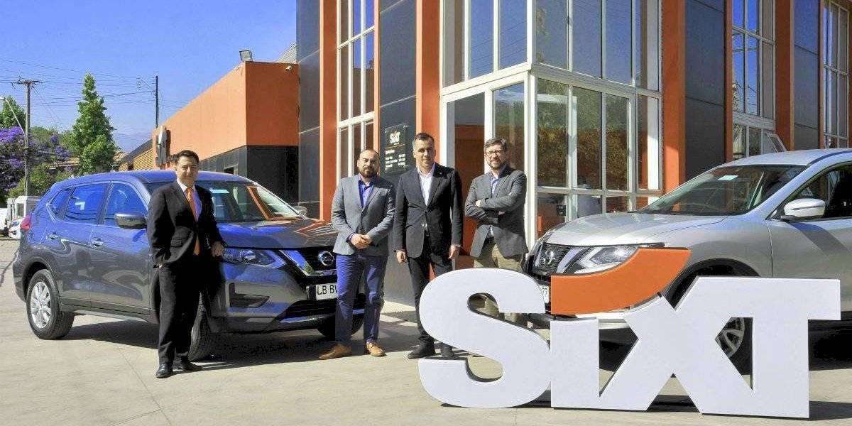 Sixt Rent a Car sumó 60 Nissan X-Trail a su flota