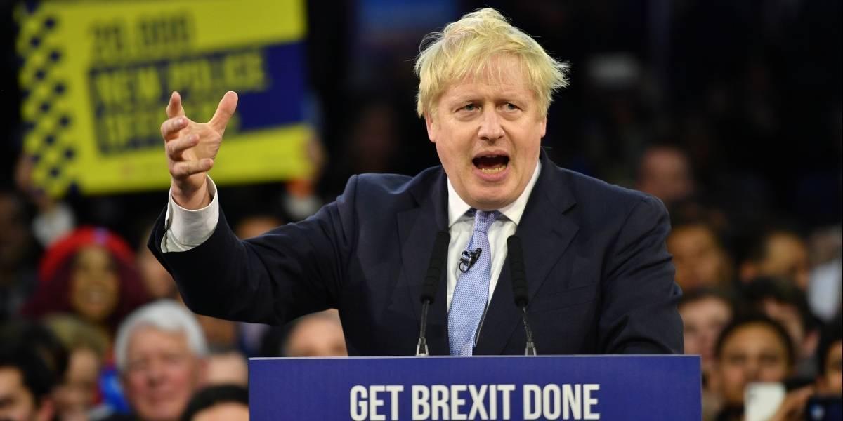 Boris Johnson y los Conservadores logran mayoría absoluta, según sondeos