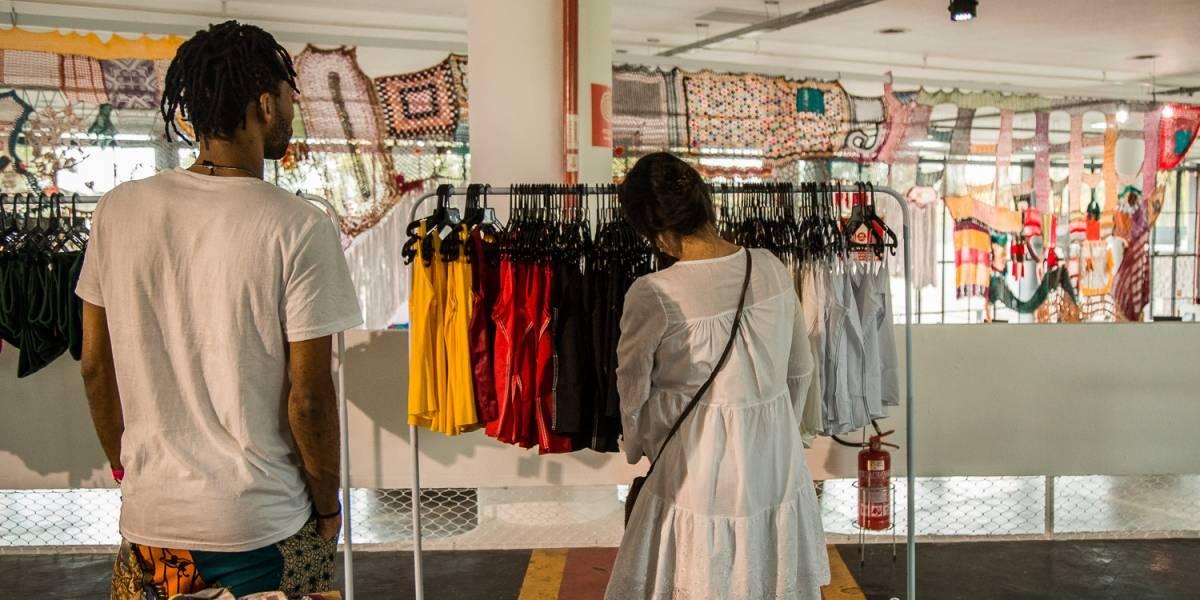 ONG faz bazar beneficente com roupas de marcas famosas a partir de R$ 20