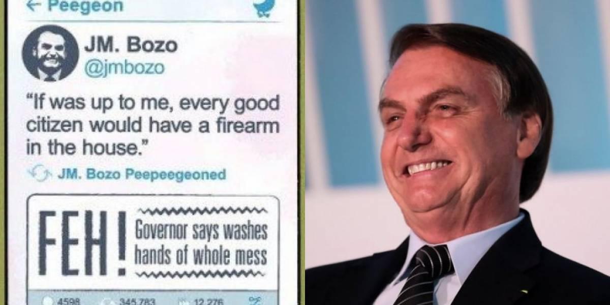 Nova HQ do Batman tem aparição de Bolsonaro: 'Bozo'