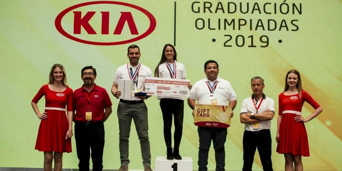 Kia Chile tuvo su clásica ceremonia de graduación y Olimpiadas