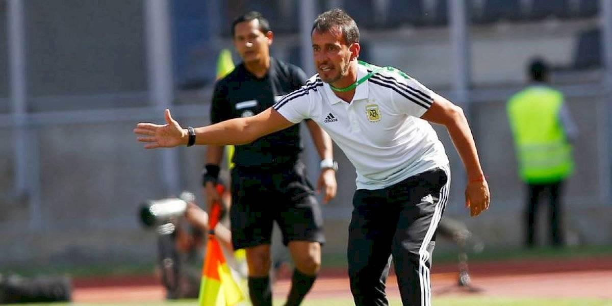 """El técnico de Argentina sub 23 alabó a la Roja: """"Chile es un equipo difícil y le puede ganar a cualquiera"""""""