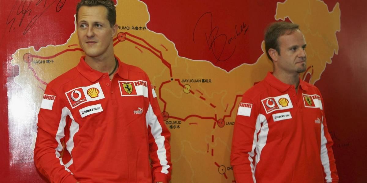 Barrichello revela su nula relación con Schumacher: 'Él nunca fue solidario'