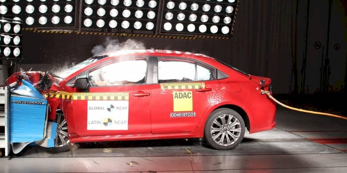 Toyota Corolla nuevamente sale bien parado en las pruebas de Latin NCAP
