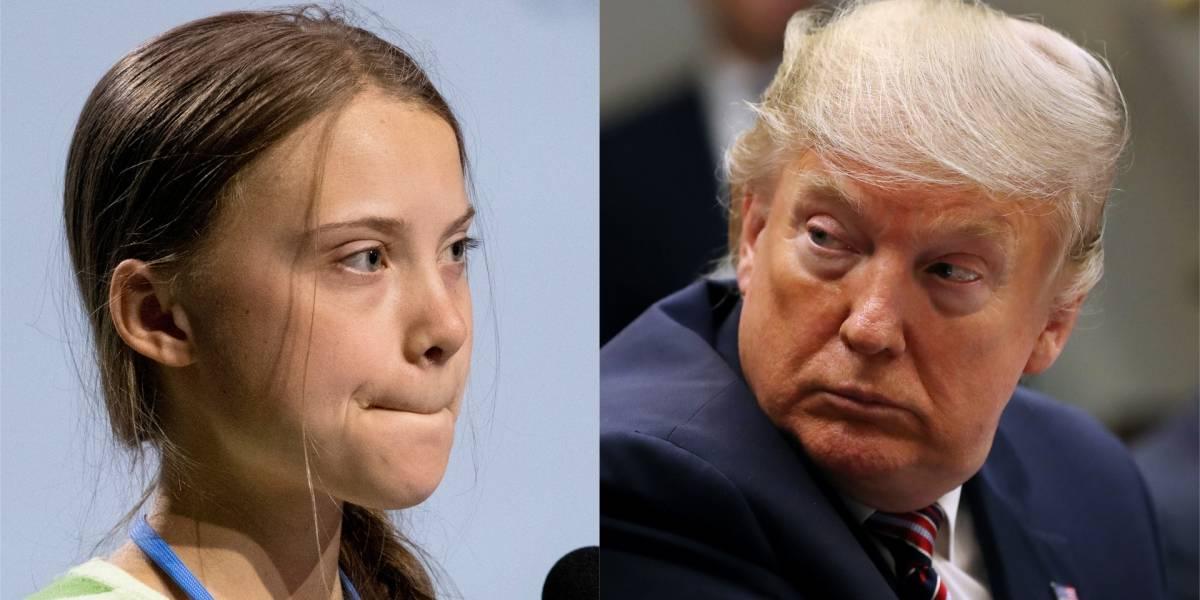 Donald Trump mandó al cine a Greta y ella le respondió sutilmente en sus redes sociales