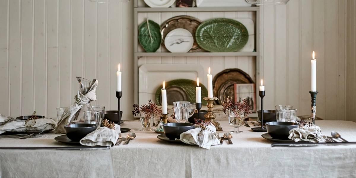 Mesa de Natal: 4 truques para decorar e receber convidados