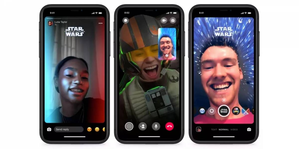 Facebook Messenger ganha filtros e adesivos com o tema Star Wars; veja como ativá-los
