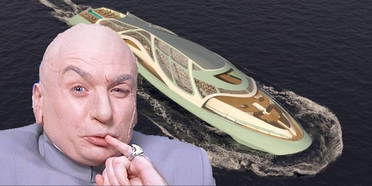 Carapace: el yate de villano de James Bond que se vuelve submarino