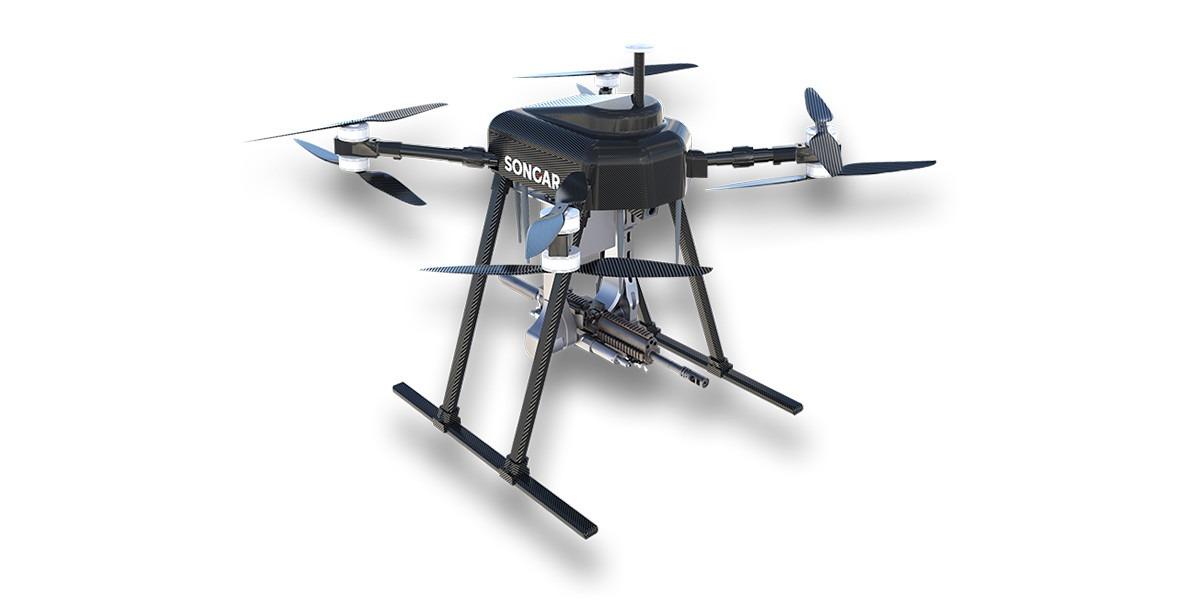Este es SONGAR: el dron militar asesino equipado con una metralleta de ráfaga rápida