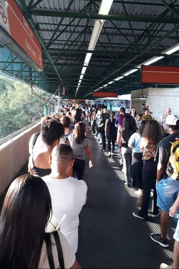Problemas Metrô linha 3-Vermelha