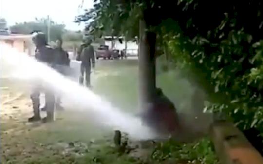 La verdadera historia del video en el que agentes del Esmad agreden a un ciudadano
