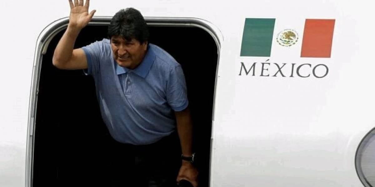 Reservan por 5 años vuelo de Evo Morales al país