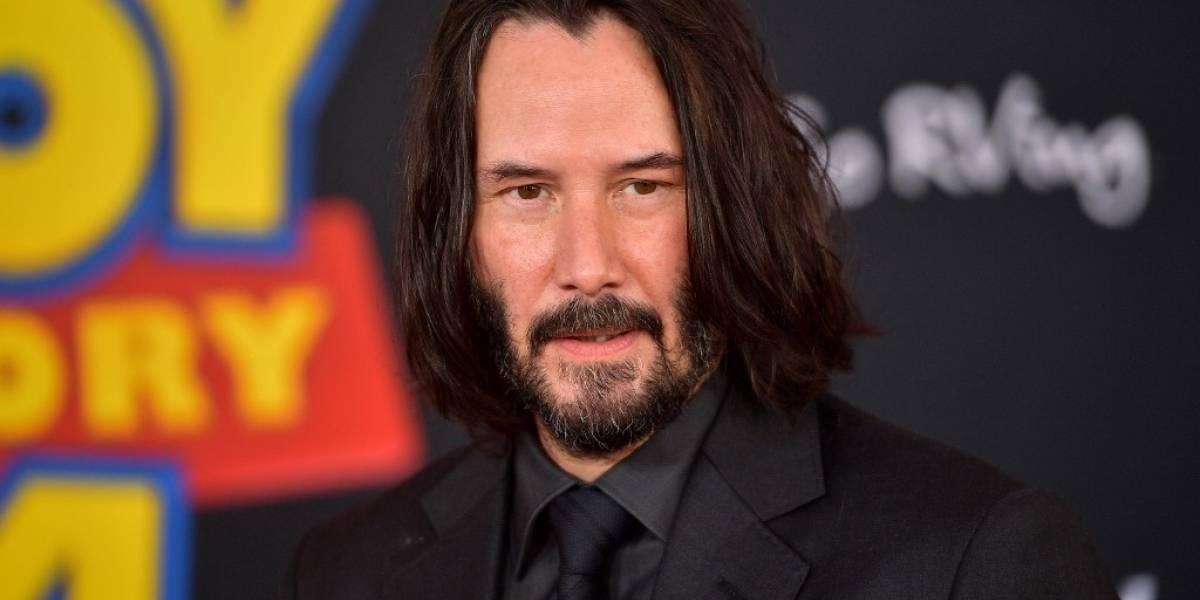 """Por estreno de """"Matrix"""" y """"John Wick"""" piden que se declare feriado en honor a Keanu Reeves"""