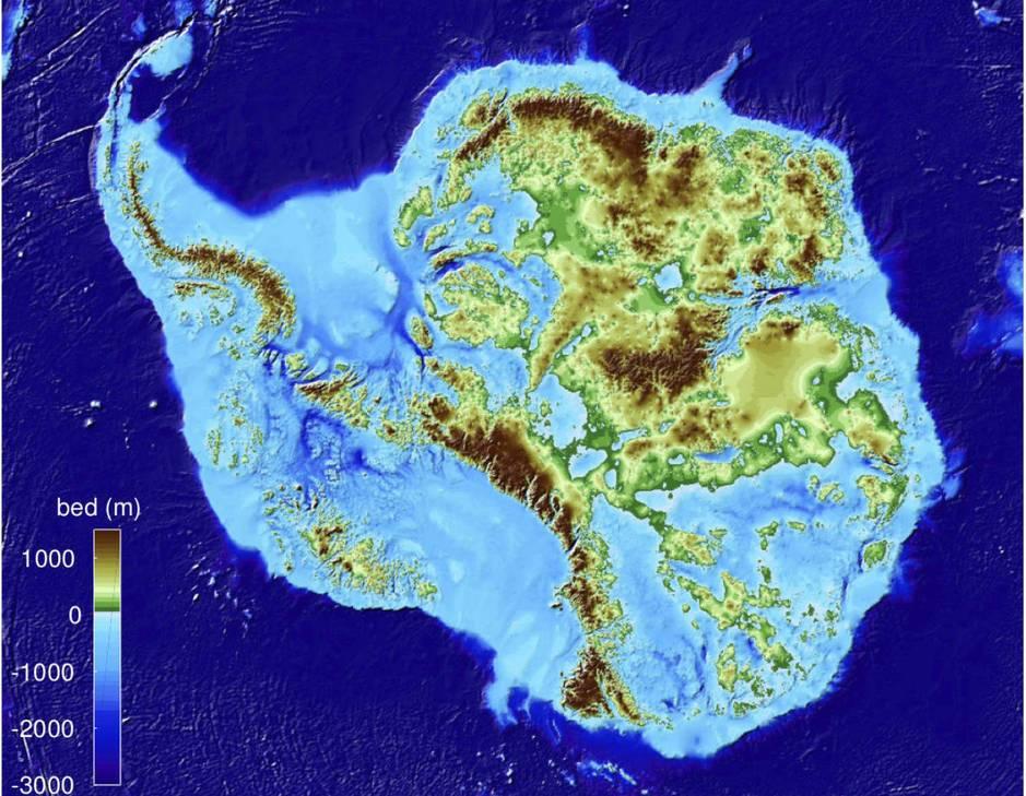 Científicos encuentran punto más profundo de la Tierra en la Antártida