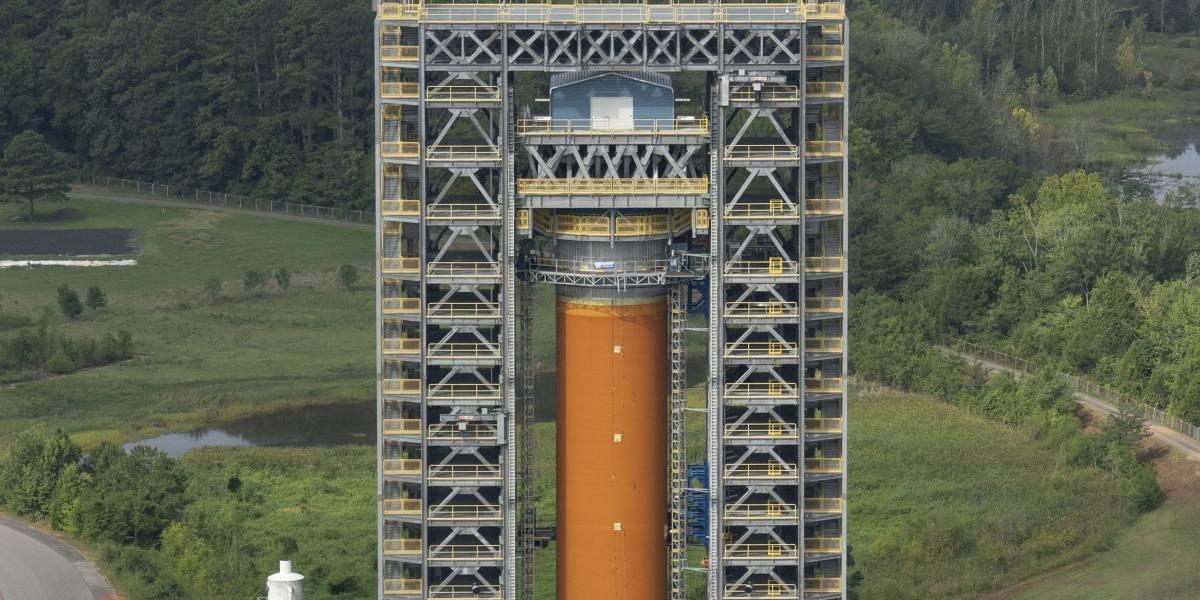 NASA apresenta seu foguete mais potente de todos