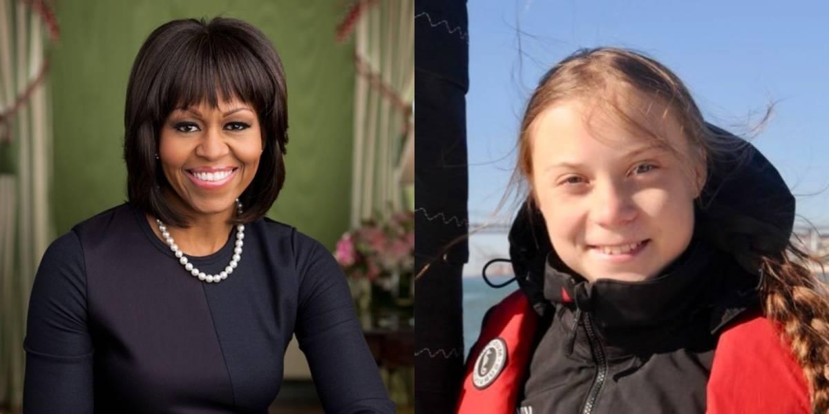Michelle Obama publica mensagem em solidariedade a Greta Thunberg