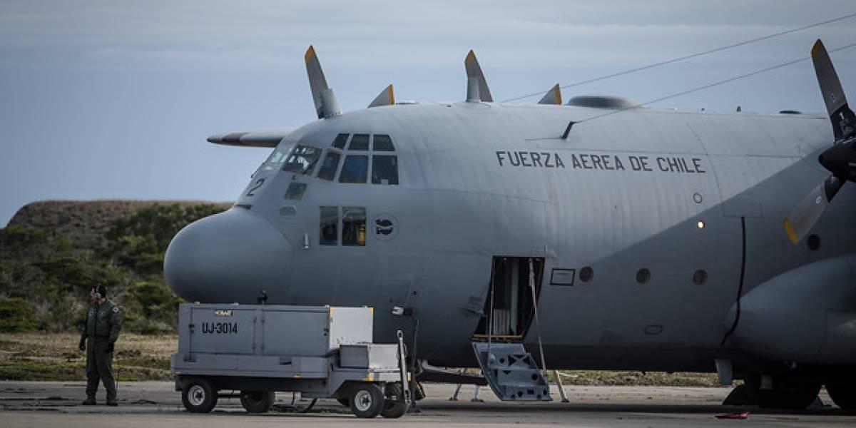 La FACH niega versión de supuesta emergencia antes del accidente del Hércules C-130